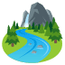 🏞️ national park Emoji on Joypixels Platform