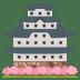 🏯 Japanese castle Emoji on Joypixels Platform