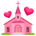 💒 wedding Emoji on Joypixels Platform