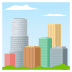 🏙️ Paisagem Urbana Emoji na Plataforma JoyPixels