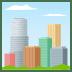 🏙️ Cityscape Emoji on JoyPixels Platform