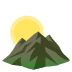 🌄 sunrise over mountains Emoji on Joypixels Platform