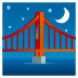 🌉 bridge at night Emoji on Joypixels Platform