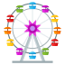 🎡 ferris wheel Emoji on Joypixels Platform