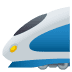 🚄 high-speed train Emoji on Joypixels Platform