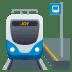 🚉 station Emoji on Joypixels Platform