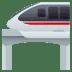 🚝 monorail Emoji on Joypixels Platform