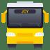🚍 Oncoming Bus Emoji on JoyPixels Platform