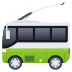 🚎 trolleybus Emoji on Joypixels Platform