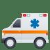 🚑 Ambulance Emoji on JoyPixels Platform
