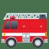 🚒 fire engine Emoji on Joypixels Platform