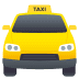 🚖 oncoming taxi Emoji on Joypixels Platform