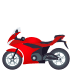 🏍️ motorcycle Emoji on Joypixels Platform