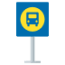 🚏 bus stop Emoji on Joypixels Platform