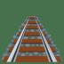 🛤️ railway track Emoji on Joypixels Platform
