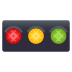 🚥 horizontal traffic light Emoji on Joypixels Platform