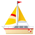 ⛵ Sailboat Emoji on JoyPixels Platform