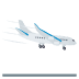 🛬 Airplane Arrival Emoji on JoyPixels Platform