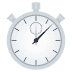 ⏱️ stopwatch Emoji on Joypixels Platform