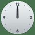 🕛 twelve o'clock Emoji on Joypixels Platform