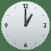 🕐 one o'clock Emoji on Joypixels Platform