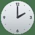 🕑 two o'clock Emoji on Joypixels Platform