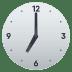 🕖 seven o'clock Emoji on Joypixels Platform