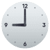 🕘 nine o'clock Emoji on Joypixels Platform