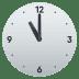 🕚 eleven o'clock Emoji on Joypixels Platform