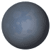 🌑 new moon Emoji on Joypixels Platform