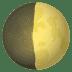 🌓 first quarter moon Emoji on Joypixels Platform