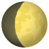 🌔 waxing gibbous moon Emoji on Joypixels Platform