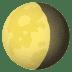 🌖 Waning Gibbous Moon Emoji on JoyPixels Platform