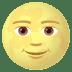 🌝 Full Moon Face Emoji on JoyPixels Platform