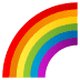 🌈 rainbow Emoji on Joypixels Platform