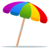 ⛱️ umbrella on ground Emoji on Joypixels Platform