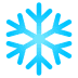 ❄️ snowflake Emoji on Joypixels Platform