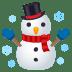 ☃️ snowman Emoji on Joypixels Platform