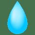 💧 droplet Emoji on Joypixels Platform
