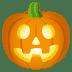 🎃 Calabaza Halloween Emoji en la plataforma JoyPixels