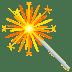 🎇 sparkler Emoji on Joypixels Platform