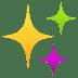 ✨ sparkles Emoji on Joypixels Platform