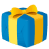 🎁 wrapped gift Emoji on Joypixels Platform
