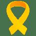 🎗️ reminder ribbon Emoji on Joypixels Platform