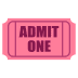 🎟️ admission tickets Emoji on Joypixels Platform