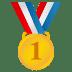 🥇 1st place medal Emoji on Joypixels Platform