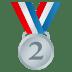 🥈 2nd place medal Emoji on Joypixels Platform