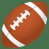 🏈 american football Emoji on Joypixels Platform