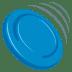 🥏 Flying Disc Emoji on JoyPixels Platform