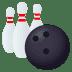 🎳 bowling Emoji on Joypixels Platform